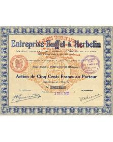 Entreprise Buffet & Herbelin