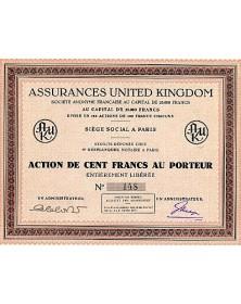Assurances United Kingdom