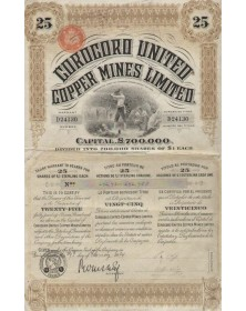 Corocoro United Copper Mines Ltd.