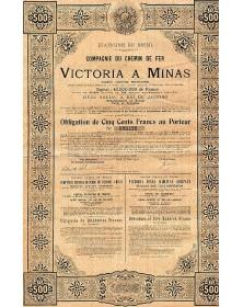 Cie du Chemin de Fer Victoria à Minas