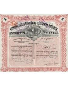 Corocoro United Copper Mines Ltd. 1922