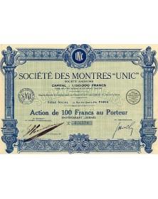"""Sté des Montres -Unic-"""""""""""