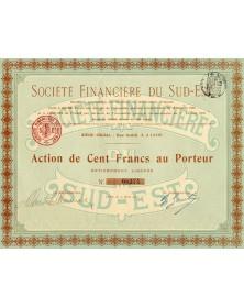 Sté Financière du Sud-Est