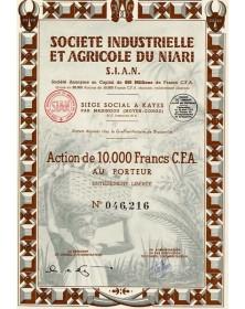 Sté Industrielle et Agricole du Niari (S.I.A.N.)
