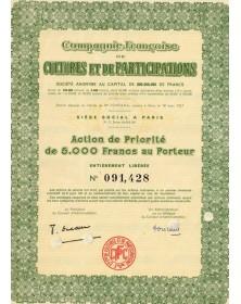 Cie Française de Cultures & de Participations