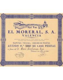 El Moreral, S.A. Valencia
