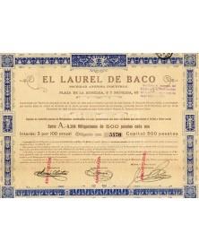 El Laurel de Baco