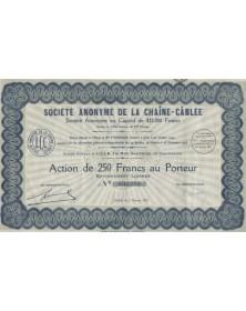 S.A. de la Chaîne-Cablée