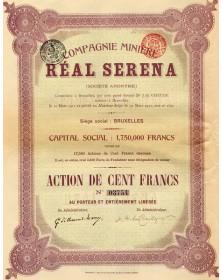 Cie Minière Real Serena