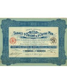 S.A. des Tabacs d'Orient & d'Outre-Mer