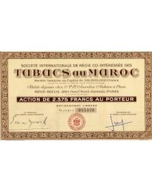 Sté Internationale de Régie Co-Intéressée des Tabacs au Maroc