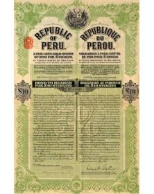 République du Pérou (dos du titre)