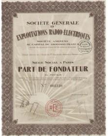 Sté Générale d'Exploitations Radio- Electriques