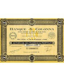 Banque A. Colonna