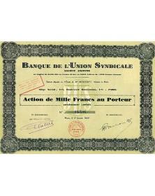 Banque de l'Union Syndicale