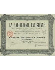La Radiophonie Parisienne