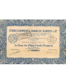 Ets Charles Dubost et Cie