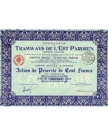 Cie des Tramways de l'Est Parisien