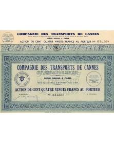 Cie des Transports de Cannes