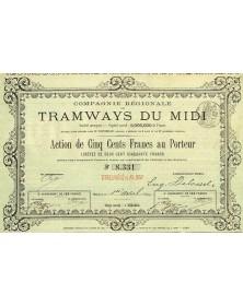 Cie Régionale des Tramways du Midi