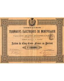 Cie des Tramways Electriques de Montpellier