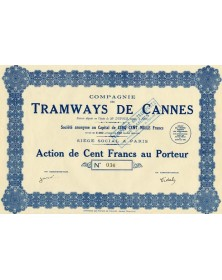 Cie des Tramways de Cannes