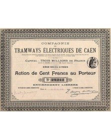 Cie des Tramways Electriques de Caen