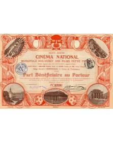 Cinéma National. Monopole Sud-Ouest des Films Pathé Frères