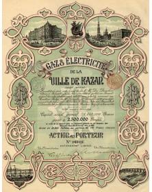 Gaz & Electricité de la Ville de Kazan. Gaz & Electricity from the Kazan City