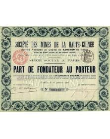 Sté des Mines de la Haute-Guinée