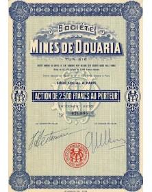 Sté des Mines de Douaria