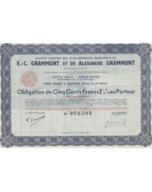 Ets Industriels de E.-C. Grammont et de Alexandre Grammont