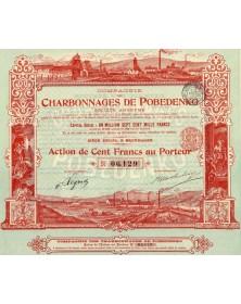 Cie des Charbonnages de Pobedenko