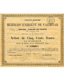 S.A. des Minerais d'Argent de Vallenar