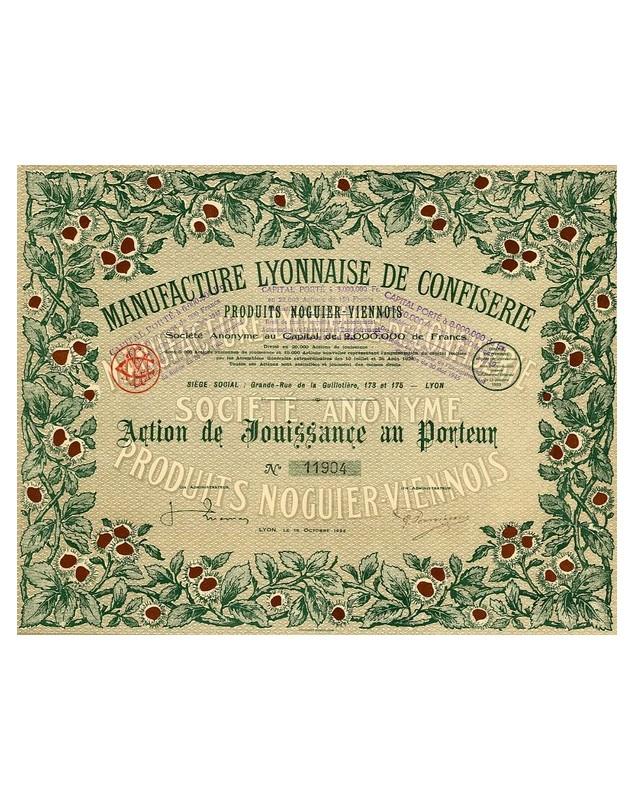Manufacture Lyonnaise de Confiserie - Produits Noguier-Viennois