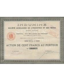 Indumine - Sté Auxiliaire de L'Industrie et des Mines