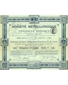 Sté Métallurgique de la Péninsule Ibérique