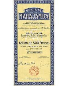 Sté de la Mahajamba