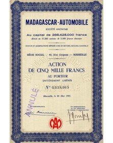 Madagascar-Automobile
