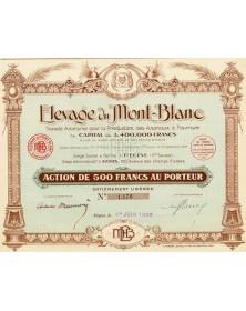Elevage du Mont-Blanc