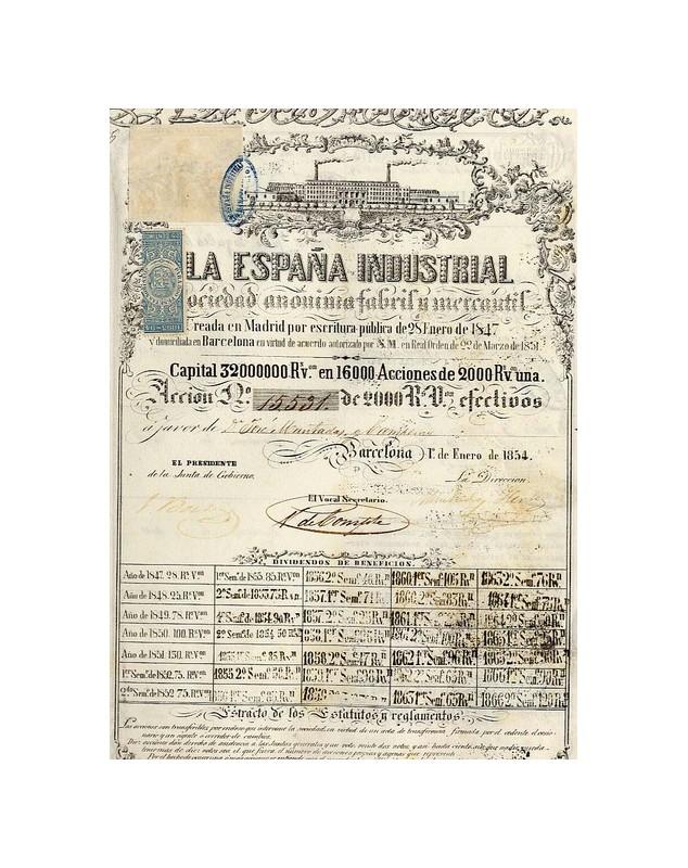 La Espana Industrial (Fabril y mercantil)