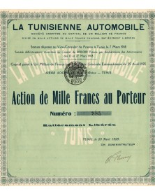 La Tunisienne Automobile