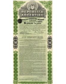 Republica Argentina - Credito Argentino Interno