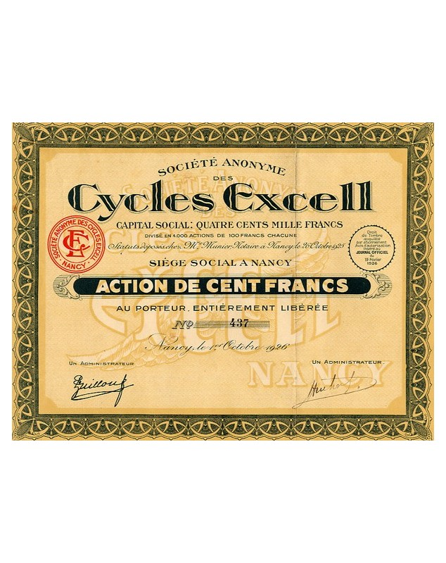 Cycles Excell