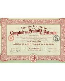 Sté Française du Comptoir des Produits du Pétrole