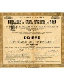 Cie du Canal Maritime du Nord