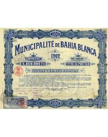 Municipalité de Bahia Blanca