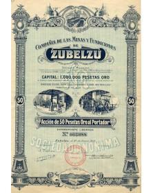 Cia de las Minas y Fundiciones de Zubelzu