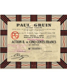 S.A. Paul Gruin