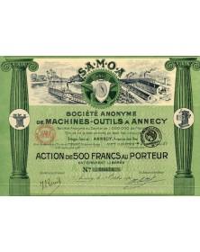 S.A. de Machines-Outils à Annecy